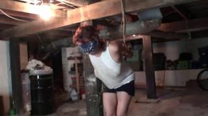 Ashlee Graham is Basement Bound [2019,torture,Rope,Bondage][Eng]