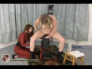 Adrianna Air Chair [2017,House of Gord,Adrianna Nicole/Seven/Petal,Metal Bondage,Electrica,Fucking Machines][Eng]