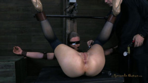 Cute girl next door, is put in the Insex mask [2018,SB,Cool Girl,BDSM][Eng]