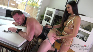 Smile For Cock [2019,Eliza Ibarra,Strap-on,Pegging,CBT][Eng]