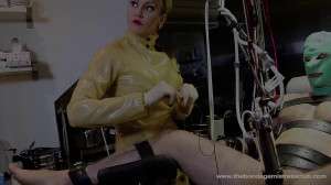 Mistress Miranda in Machine Handjob Pt 2-4 [Foot Domination,Femdom ,Foot Fetish][Eng]