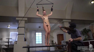 Dungeon Corp - Sadie Blair - The Shy Submissive Monster part 1 [2018,Dungeon Corp,Sadie Blair,steel,whipping,device bondage torture][Eng]