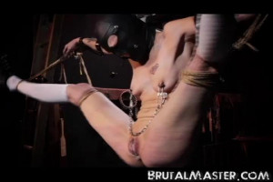 Pig - Jingle Bells Cunt Torture [BDSM,Torture,Bondage][Eng]