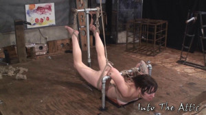 Amateurs Hard Bondage scene 44 [Real Amateur,Electricity,Slave][Eng]