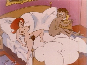 Experienced titsy bitch in bed Cartoons