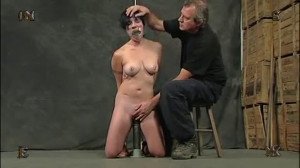 Extreme bondage, torture, suspension and hogtie for a young bitch [2018][Eng]