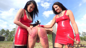 Boot Licking Whore Gets Caned -best femdom porn [2015,ClubDom,Lydia Supremacy,Humiliation,Fetish,Outdoor][Eng]