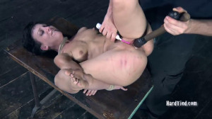 Hard bondage, strappado and torture for hot whore part2 [2019][Eng]