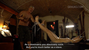 The Dominatrix part vol. 2 Do Whatever You Want To Me [Eng]