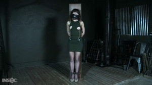 Dakota Marr Gets Stress and Fear [2019,Dakota Marr,Stockings,Clothespins,Electrical Play][Eng]