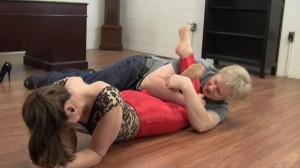 Elizabeth Andrews - Promotion Celebrated With Tickling [2021,Bondage,BDSM,Rope][Eng]