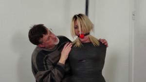 Jane Lynn Doe - Pole Bound and Helpless Mummy! [2021,BDSM,Rope,Bondage][Eng]
