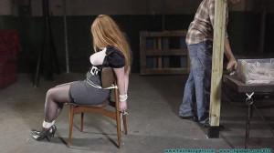Ginger's Test - Part 1 [2020, Busty,Breast bondage][Eng]