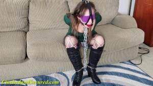 Rachel Adams - Secured in Steel [2021,Rope,BDSM,Bondage][Eng]