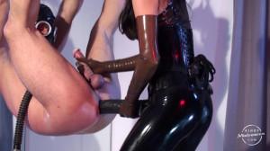 Mistress Susi - Strap-on Suspension [2017,Fetish,Latex,Femdom][Eng]