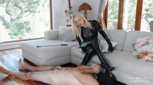 Young Goddess Kim - Boot bitch Edged and Denied [2021,handjob,glove fetish,tease & denial][Eng]