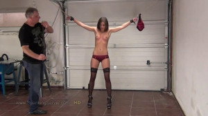 Super bondage, domination and spanking for sexy young girl [2019][Eng]