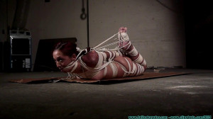 Stefania 700 - Part 3 [2020, Brunettes, crotchrope, feet toes][Eng]