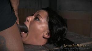 Hardcore Throatboarding Sybian Slut [Sexuallybroken][Eng]