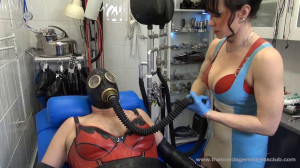 Rubber Clinic: Smooth and Shiny Boundaries [Foot Fetish,Femdom ,Foot Domination][Eng]