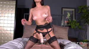 My Cuckold Pet [2019,Ariana Marie,Strap-on,Femdom POV,Stockings][Eng]