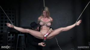 Bdsm Porn Videos Teeter [2019,HardTied,Kit Mercer,Anal Play,Vibrator,Bondage][Eng]