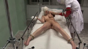 Hard bondage, domination and torture for sexy model part 2 [2021][Eng]