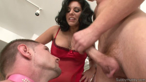 Bella Reese A mouthful in the morning [2011,SubbyHubby,Bella Reese,Bisex,blowjob,humiliation][Eng]