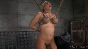 HT - Blonde Angel Allwood, Jack Hammer - All About the Booby [2014,Angel Allwood,Hardcore,Humilation,BDSM][Eng]
