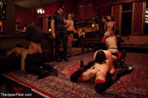 Christmas Part Two: BDSM slaves and anal whores celebrate the holidays [2012,Kink: The Upper Floor,Dylan][Eng]