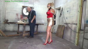 Haughty spoiled brat bitches about being bound and held for ransom [2020,Staring NIka Venom,tape gag,leather gloves,high heels][Eng]