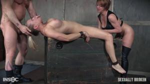 Angel Allwood [SexuallyBroken,Angel Allwood,Gagging,Throat Boarding,BDSM][Eng]