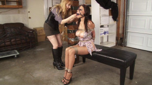Bench Bondage Behind the Scenes with Ashley Renee [Eng]
