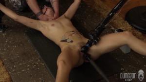 Dungeon Corp - Sadie Blair - Taking Her Toll part 4 [2015,Dungeon Corp,Sadie Blair,bdsm rough sex,pain,rope][Eng]