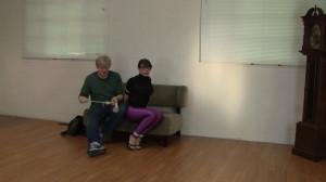 Elizabeth Andrews - Tutor Tied Tight in Disco Jeans [2021,Bondage,Rope,BDSM][Eng]