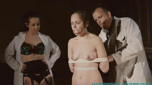 A Long Day of Hard Bondage for Rachel 4 - Frogtied and Spanked Part 1 [Eng]