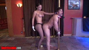 Pole And Fucked [2015,Femdom,strapon][Eng]