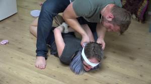 Custom Wrestling Bondage Escape Challenge [2017,Bondage][Eng]