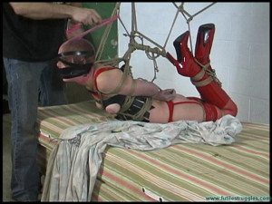 Rachel Carted, Carried, Hogtied, Clamped, spanked - Part 2 [2020,ballgag, electrical tape, pantyhose][Eng]