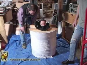 Archives - 1st Millenium Pt 21 [2009,catsuits,collars,foam bondage][Eng]