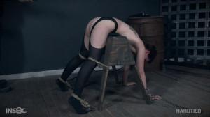 Big ass Kitty Dorian likes bondage [2017,Kitty Dorian,Humiliation,Vibrator,Torture][Eng]