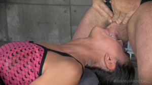 RTB - Lyla bound, vibrated to orgasm and deepthroated by BBC! [2014,Lyla Storm,Domination,Fetish,Hardcore][Eng]