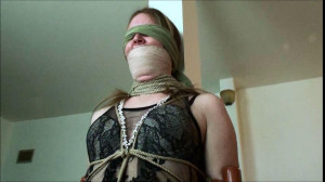 Arielle Helpless In ChairTie [2019,torture,Rope,BDSM][Eng]