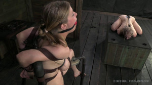 Blondes in Bondage - Penny Pax and Sarah Jane Ceylon [2015,Penny Pax,Torture,Bondage,Caning][Eng]