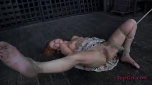 Hard bondage, suspension and torture for hot model [2020][Eng]