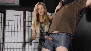 Horny Slave's Punishment [Mistress Tatjana,Ruined Orgas,Blonde,Domination][Eng]