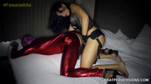 Femdom Raw - Russian Model Turned Into A Sensual Domina feat. Crystal Rush [2019,Strapon Anal Penetration in ,Anal,Facesitting][Eng]