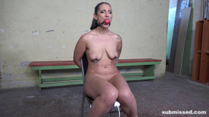 Struggling Laura tied up and whipped [2020,Punish,Bdsm,Torture][Eng]