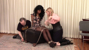 Bdsm Most Popular Cupcake Sinclair is Grabbed and Gagged and Roped [2018,BedroomBondage,Bondage][Eng]