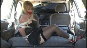 Bdsm Most Popular Car Captive Lorelei Tied Up in her Slip [2018,BedroomBondage,Bondage][Eng]